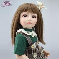 Fashion girl BJD doll Handmade BJD Reborn doll princess babies Joint dolls 45cm 1/4 SD/BJD Dollhouse Toys Reborn baby doll