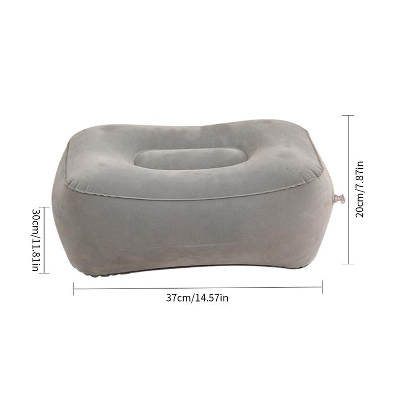 2019 Hot Useful Inflatable Portable Travel Footrest Pillow Plane Train Kids Bed Foot Rest Pad PVC 2019 Hot Useful Inflatable Portable Travel Footrest Pillow Plane Train Kids Bed Foot Rest Pad PVC For Travel Massage Car