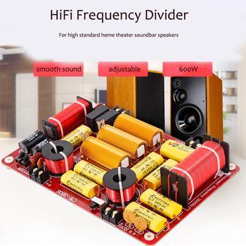 LEORY Ad Alta Fedeltà Audio FAI DA TE Suono 3 Vie Crossover 600 W Forte Potere Divisore Di Frequenza Regolabile