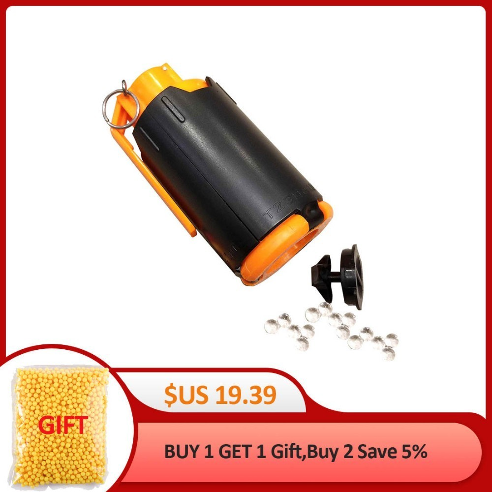 Children A Toy Gun Parts Tactical Plastic Modified Crystal Water Beads Bomb Crystal Water Bullet Bomb - Black + Orange Drop ShipChildren A Toy Gun Parts Tactical Plastic Modified Crystal Water Beads Bomb Crystal Water Bullet Bomb - Black + Orange Drop Ship