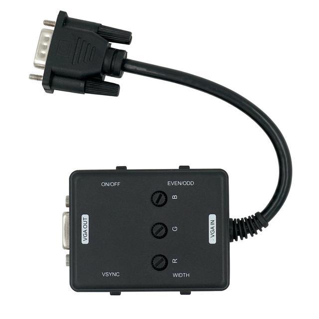 Generator VGA Scanline z przedłużaczem do klasyczny nostalgiczny gry do telewizora do podłączenia VGA lepszy widok na monitorze LCD/telewizorze