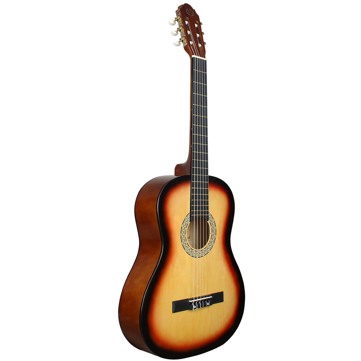 39 inch modern wood classical guitar beginner practice entry classical acoustic. Black Bedroom Furniture Sets. Home Design Ideas