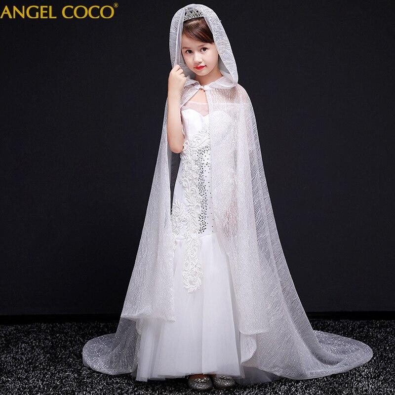 Filles Vêtements Tulle Robe de Reconstitution Historique Pour Les Filles Carnaval Enfants Costume Fleur Fille Robe Princesse De Mariage de Fête D'anniversaire Robes