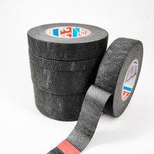 Cinta adhesiva para ropa Tesa Coroplast, arnés de cables, telar de ancho 9/15/19/25/32MM, 15m de largo, gran oferta