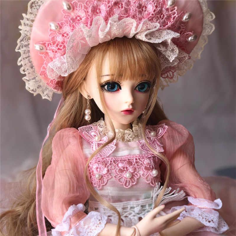 60 см BJD кукла для девочек принцесса игрушки Парикмахерская соединенная с Полный наряд SD куклы детское платье своими руками кукла подарок на день Святого Валентина