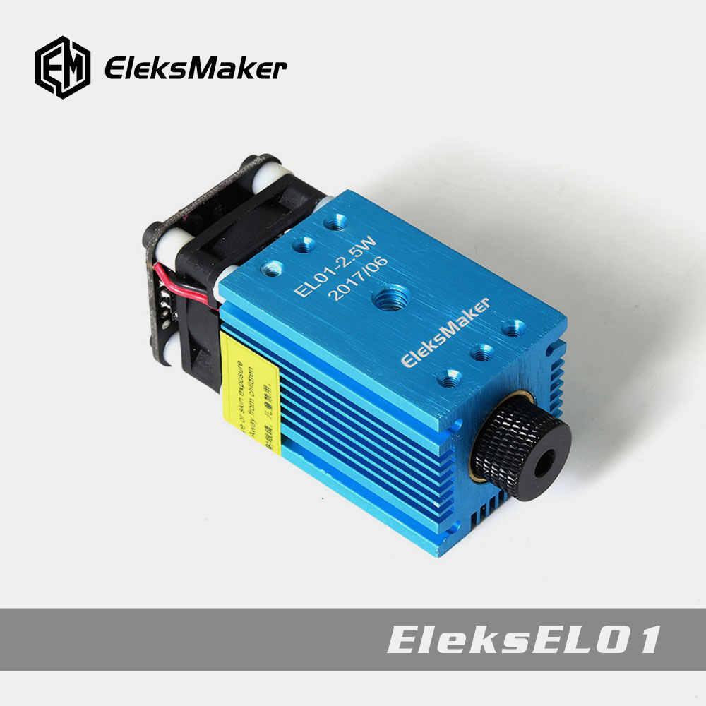 EleksMaker EL01 500mW/1600mW/2 5mW Blue Violet Laser Module PWM Modulation  2 54-3P DIY Engraver