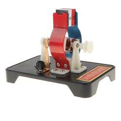 Diy dc modelo de motor elétrico montar kit para crianças física ciência brinquedo educacional
