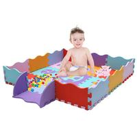 23pcs Baby Stitching Crawling Mat EVA Foam Childrens Play Mat Exercise Crawl Floor Puzzle Carpet For Kids