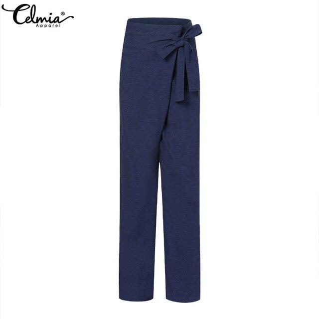 Vintage Linen Wide Leg Pants 6