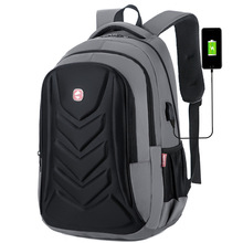 2019 New Style Pressure Shell Shoulder Bag Mens Business Backpack Computer laptop Travel