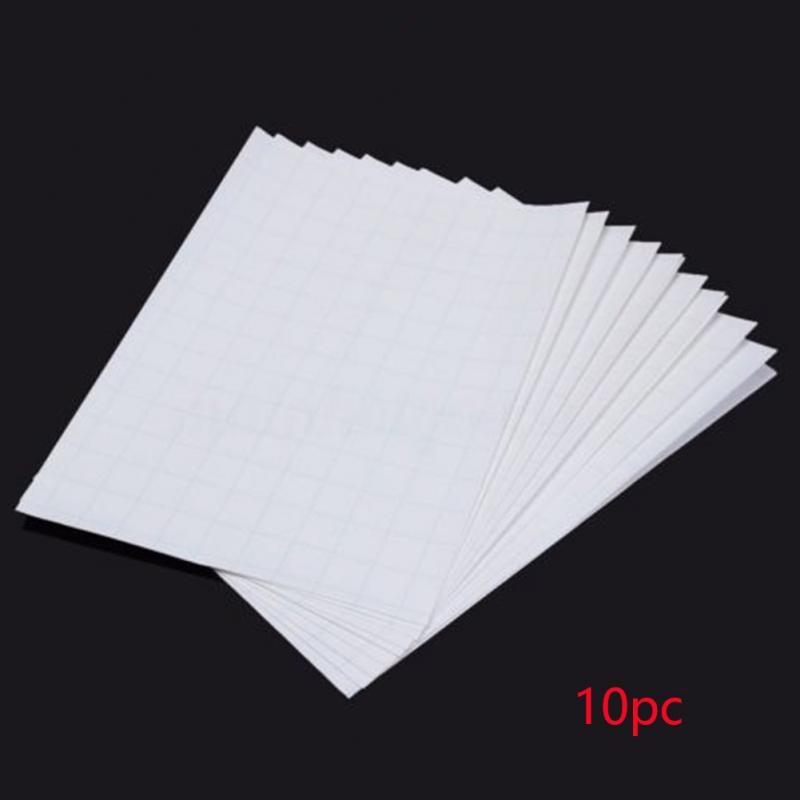 10pcs Transfer Light Fabric Heat For Inkjet Printers Light Color Paper A4 Iron