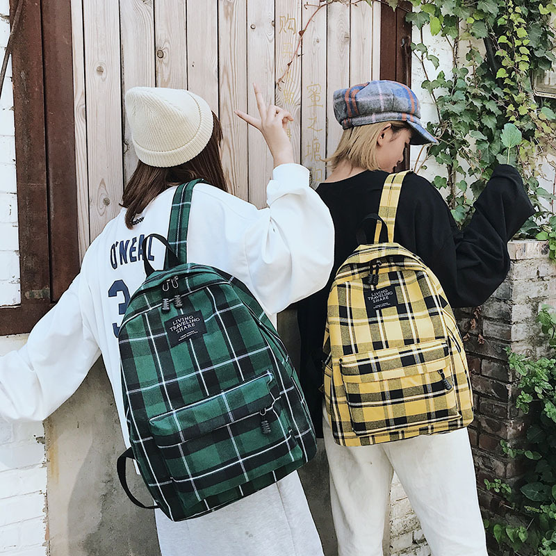 2019 Do Sexo Feminino de Alta Qualidade Mochila de Viagem Da Lona Mulheres Mochila Feminina Sac A Dos Back Pack Sacos De Escola Para Adolescentes Menina mochila