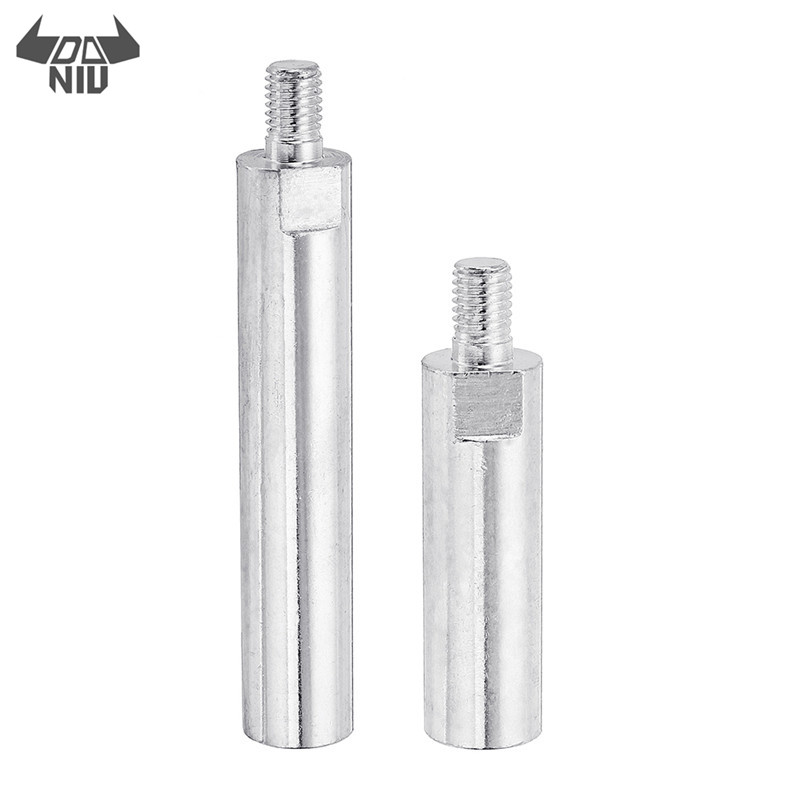 DANIU M14 Female To M10 Male Thread Angle Grinder Connecting Rod Adapter For M14 Angle Grinder Accessories