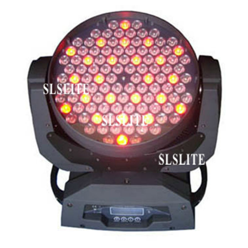luz de palco wash moving head light led 06