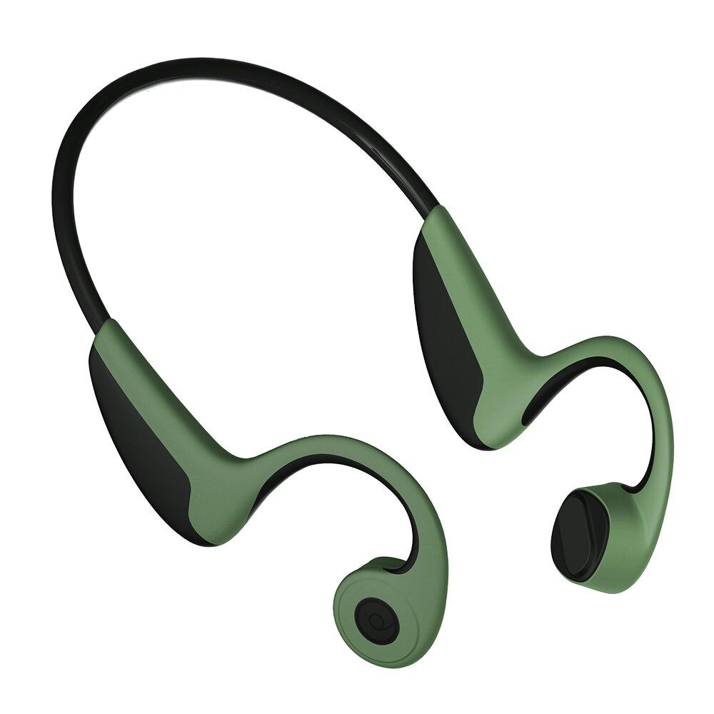 Наушники Z8 с костной проводимостью, беспроводные наушники Bluetooth 5,0, уличная спортивная гарнитура с микрофоном