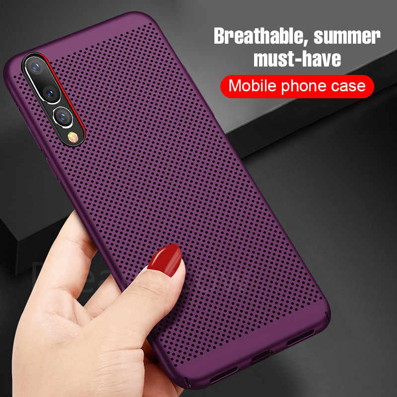Panas Disipasi Case untuk Huawei P10 P20 P30 Lite Plus 10 20 Lite P8 P9 Lite P SMART 2017 nova 3 3i Pendingin Telepon Cover
