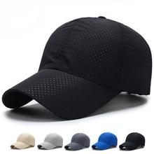 New Ultra-slim Running Cap Fabric Summer Baseball Cap Unisex