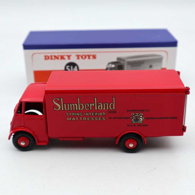 Atlas Editions Dinky Toys 514 Guy Van Slumberland Diecast Car Models Mint/boxed Limited Edition Collection