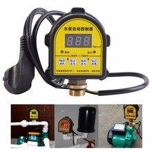 디지털 자동 공기 펌프 물 오일 압축기 압력 스위치 컨트롤러 물 펌프 220 v 10a 기능 0 10 바