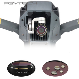 Image 3 - PGYTECH for DJI Mavic Pro ND4/8/16/32/64 Camera Lens Filter HD Multi Layer Coating Reducing Cama Lens ND Filter Accessories