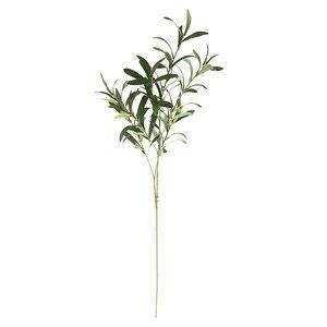 Image 2 - 1 * sztuczny kwiat 6 widelec sztuczne sztuczne kwiaty liść oliwny oddziału liści oliwnych liście dekoracji wnętrz bukiety ślubne roślin