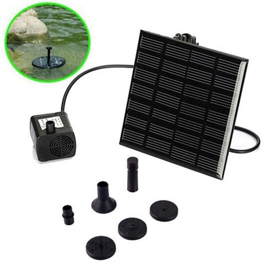 Industrious Pool Garden Pond Submersible Panel Fountain 120cm 70cm Solar Power Water 200l/h 10000 Hours 7v/1.2w Pump Kit Garden Sprinklers Garden Supplies