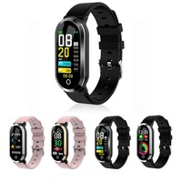 Heart Rate Monitor Blood Pressure Monitors Activity Fitness Tracker Smartwatch Wristwatch T1 Smart Watch Women Clock Health Care