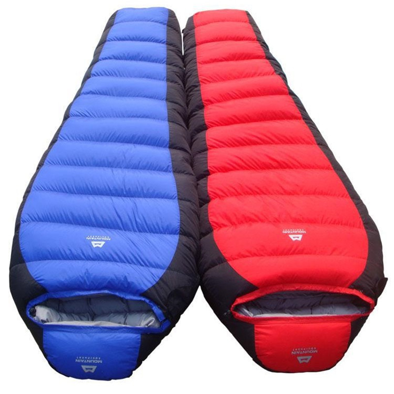 Ultralight Camping Sleeping Bag Bag Mummy White Duck Sleeping Bag Adult Camping Accesorii Camping Sleeping