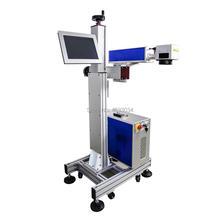 Летающее волокно онлайн лазерная маркировочная машина/Срок годности лазерный принтер для Вт серийного номера 20 Вт 30 Вт 50 Вт с лазерным источником Raycus