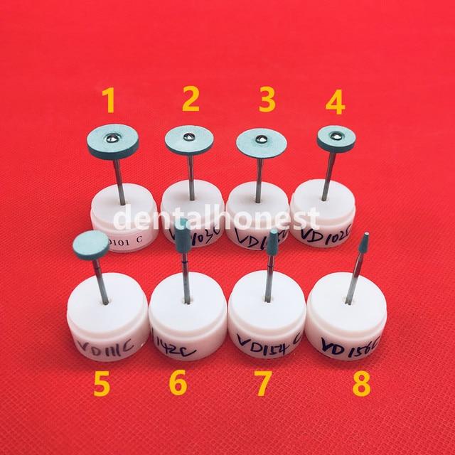 Dental Lab Diamond Material Ceramic Grinding Grinder zirconia full ceramic crowns polisher quick polishing 2.35mm VD101C-VD156C