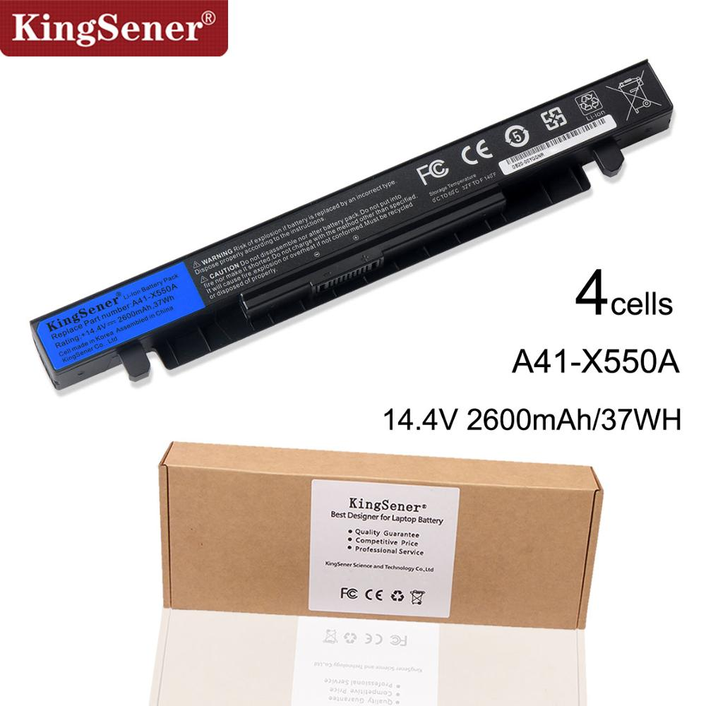 14.4V 37WH KingSener Korea Cell New Laptop Battery for ASUS A41-X550 A41-X550A X550 X550C X550B X550V X450C X450LA X452 X452E