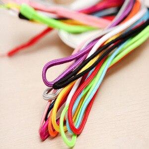 Image 2 - 50 100個のナイロンストラップ携帯電話ストラップ携帯電話datachableネックストラップ柔軟なスリングネックレスロープ