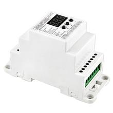 Bc-835-Din-Rj45 Dc12-24V вход 5А X 5Ch выход, din-рейка 5Ch Cv ШИМ Dmx512/1990 Декодер контроллер для светодиодной ленты светильник