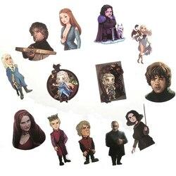 61pcs Movie Game Of Thrones Suitcase Decal Sticker Cartoon DIY Scrapbook Craft Decor Cosplay Prop x