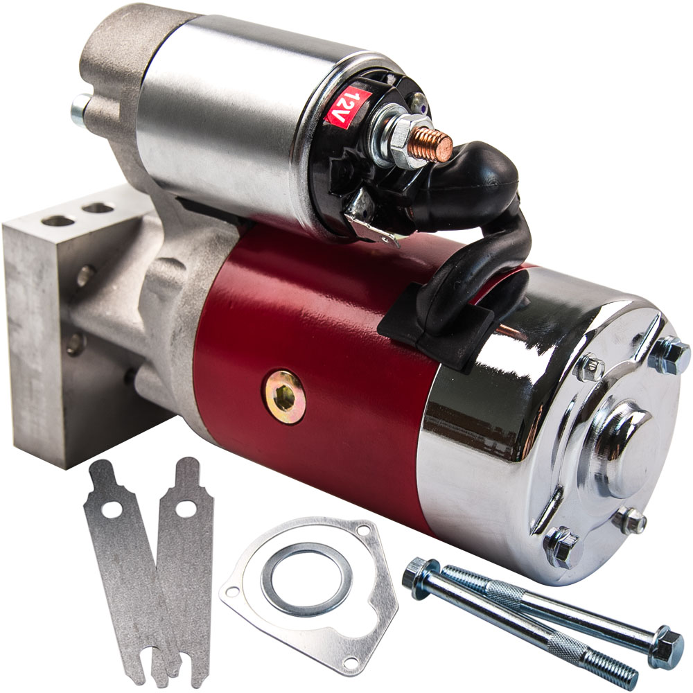 700HP Small and Big Block Starter Motor For CHEVY GM HD Mini 3HP 305 350 45|Starters| |  - title=
