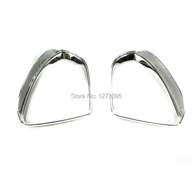 For 2014-2018 Volkswagen Vw Golf 7 ABS Rearview Mirror Trim Side Wing Mirror Protector Strip Car Accessories side wing rearview mirror cover trim protector chrome decor car styling for vw volkswagen golf 7 mk7 r gti 2014 2017 accessories