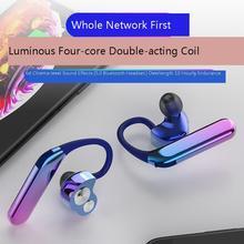 цена 2019 Wireless Bluetooth Earphone Ear Hook Painless Headset Sport Headset fone de ouvido Mini earphones For iPhone в интернет-магазинах
