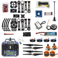 DIY RC Drone Quadcopter X4M360L Frame Full Kit with GPS APM 2.8 Flysky Remote controller Transmitter Receiver RX TX Battery RTF