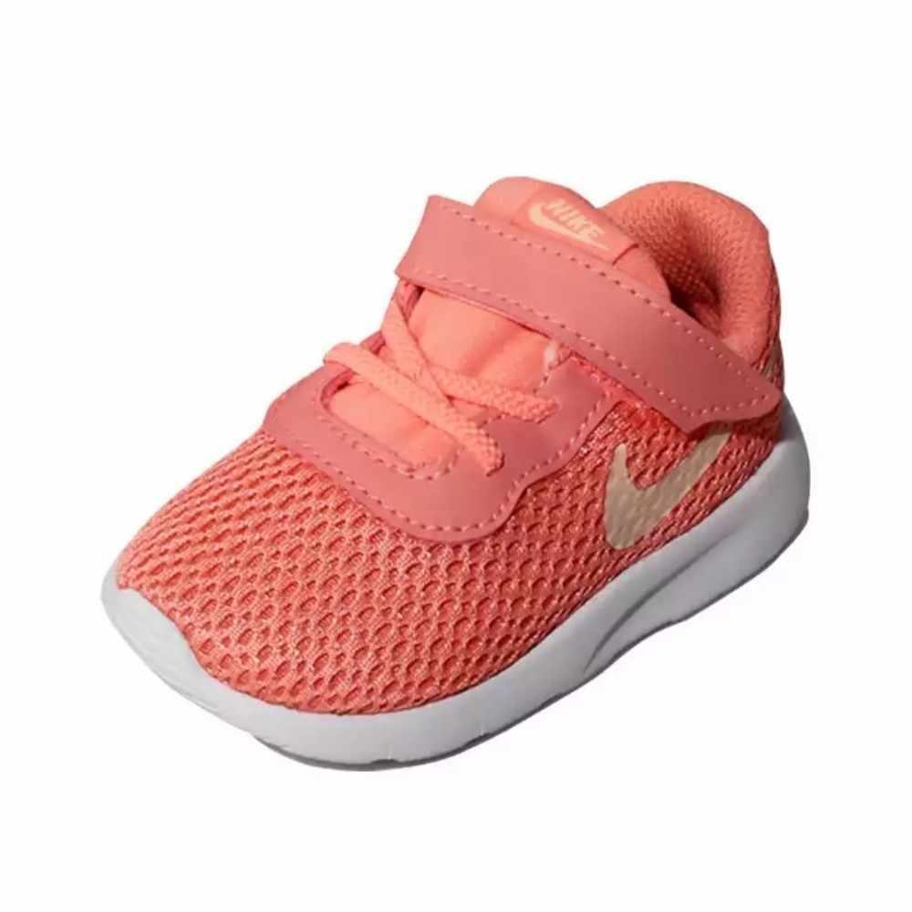 NIKE TANJUN (psv) Детские Оригинальные дышащие спортивные детские кроссовки легкие удобные кроссовки #844872-602