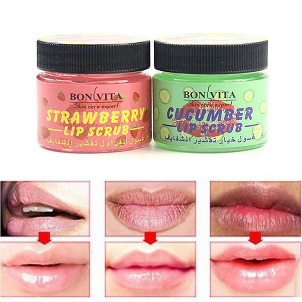 Professional Lip Scrub Moisturizing Full Lips Smooth Exfoliating Balm Care Labial Enhancer Anti Aging Wrinkle Lip Care TSLM2