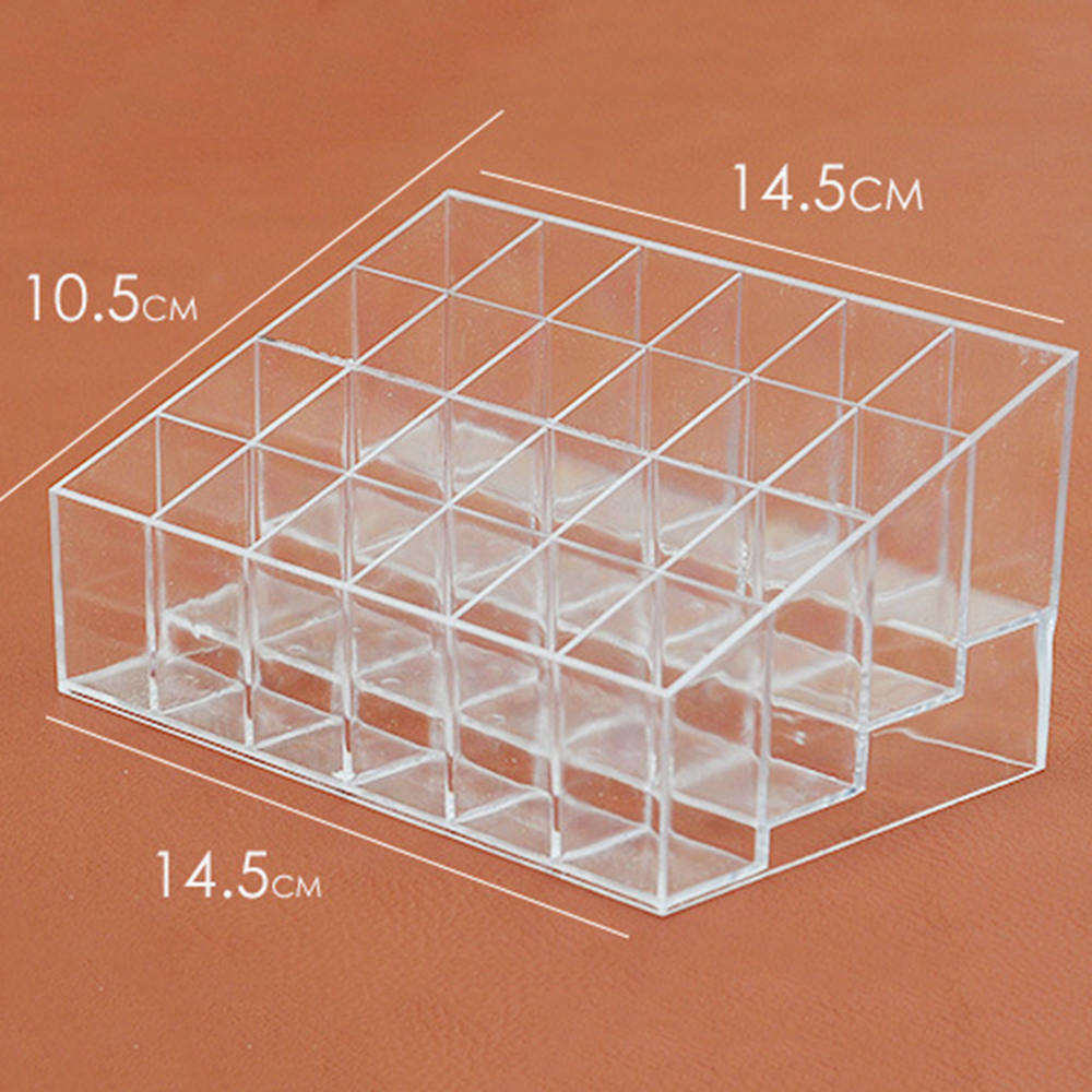 Makeup Tool Kits Box Acrylic Cosmetic Makeup Organizer Makeup Brush Holder Cup Make Up Lipstick Stand in Eye Shadow Applicator from Beauty Health