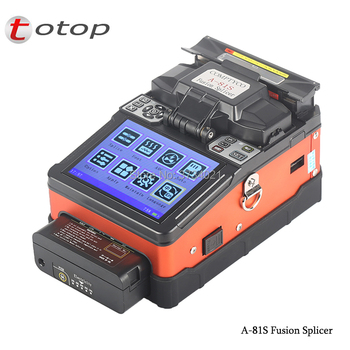 A-81S FTTH Fiber Optic Welding Splicing Machine A-81S Fusion Splicer with 9 Seconds Splicing Time фото