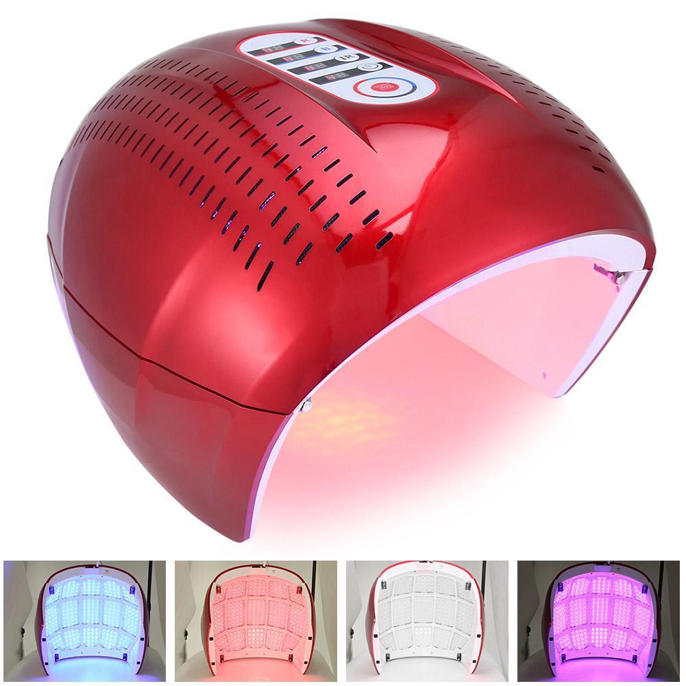 4 Color PDT Acne Removal Machine Face LED Light Therapy Skin Rejuvenation Face Care EU US UK Plug