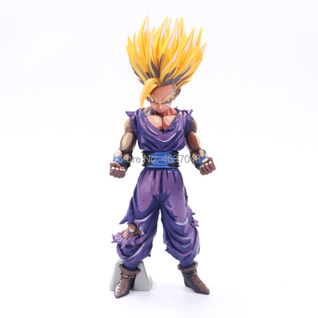 23-25cm Anime Dragon Ball Z Super Saiyan Son Gohan Action Figures