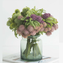 Northyle Lu-lu-tung Artificial Plants Bouquet Fake Greenery Plant Wall background Decor wedding decoration flower