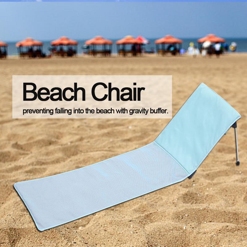 Outdoor Beach Deck Folding Chair Aviation Aluminum Recliner Single Travel Sun Lying BedOutdoor Beach Deck Folding Chair Aviation Aluminum Recliner Single Travel Sun Lying Bed