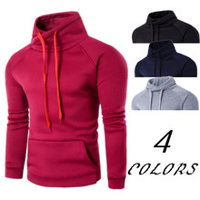 2019 Spring Autumn Hoodie Solid Color Fashion Tracksuit Male Sweatshirt Hoody Mens clothing Purpose Tour