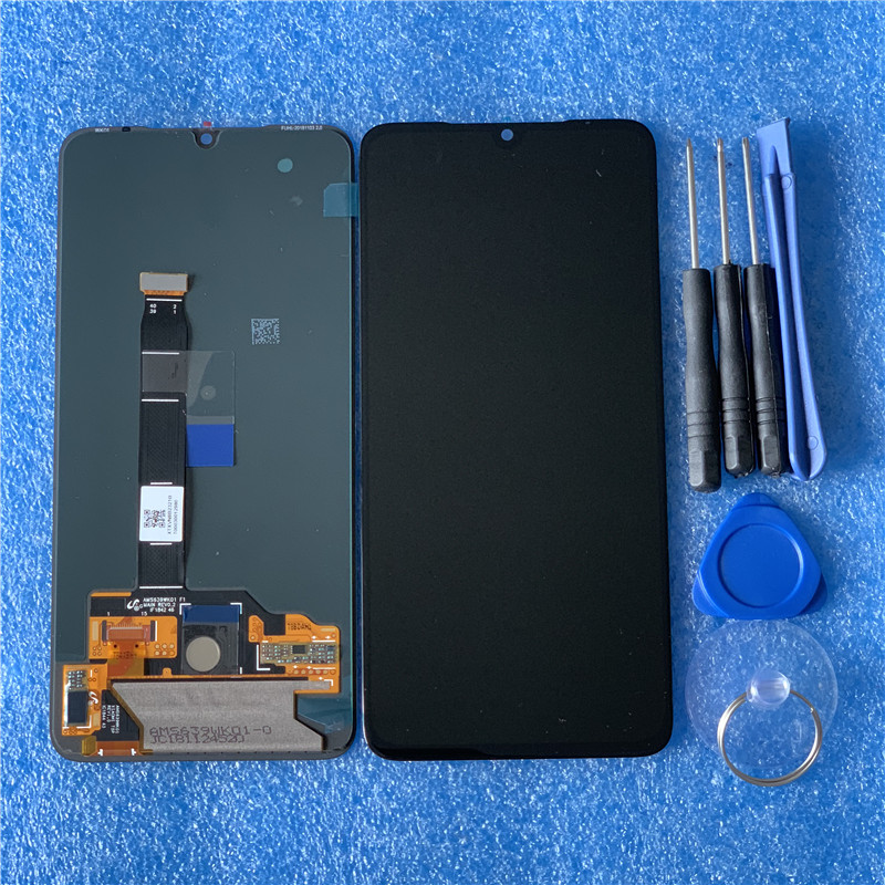 """Image 4 - Original Axisinternational AMOLED LCD Frame For 6.39"""" Xiaomi MI9 Mi9 MI 9 LCD Display Screen+Touch Panel Digitizer With Frame-in Mobile Phone LCD Screens from Cellphones & Telecommunications"""