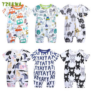 Summer Baby Rompers Infant Newborn Clothing Baby Boys Girls Clothes Baby Jumpsuits Costumes Cartoon Toddler Clothes