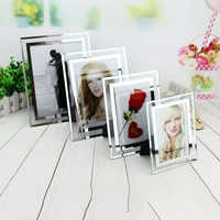 Hot Selling Crystal Glass Frame Table Certificate A4 Creative Photo Frame Album High Quality Home Decoration Glass Picture Frame
